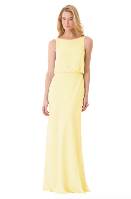 Bari Jay Bridesmaid Dress - 1661-Daffodil