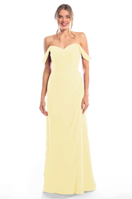 Bari Jay Bridesmaid Dress 2080 - Daffodil
