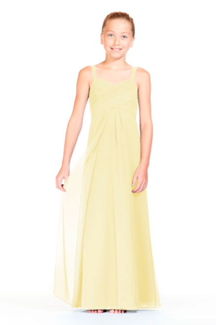 Bari Jay Junior Bridesmaid Dress 1803 (JR)-Daffodil