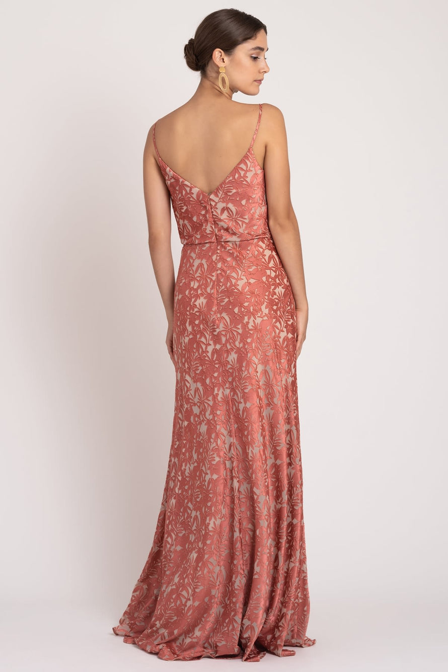 Dahlia English Rose/Nude back
