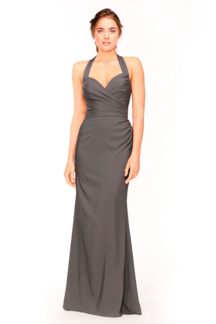 Bari Jay Bridesmaid Dress 1958 - DarkGrey