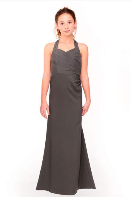 Bari Jay Junior Bridesmaid Dress 1958 - DarkGrey