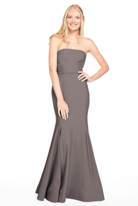 Bari Jay Bridesmaid Dress 2015 -DarkGrey