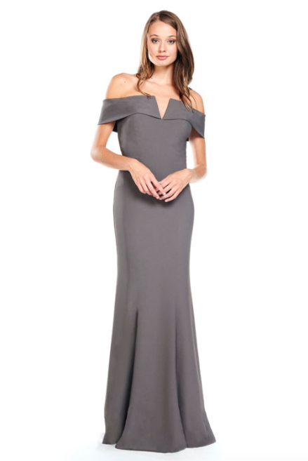 Bari Jay Bridesmaid Dress 2014 -DarkGrey