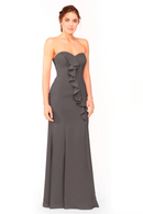 Bari Jay Bridesmaid Dress 1955 - DarkGrey