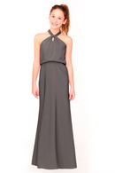 Bari Jay Junior Bridesmaid Dress 1954 -DarkGrey
