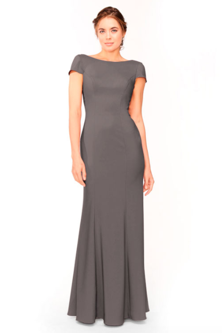 Bari Jay Bridesmaid Dress 1953 - DarkGrey