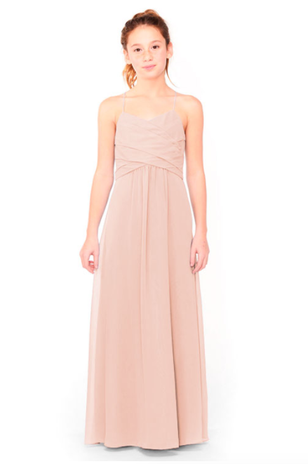 Bari Jay Junior Bridesmaid Dress 1962 - DecoBlush