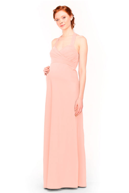 Bari Jay Maternity Bridesmaid Dress 1958 -DecoPeach