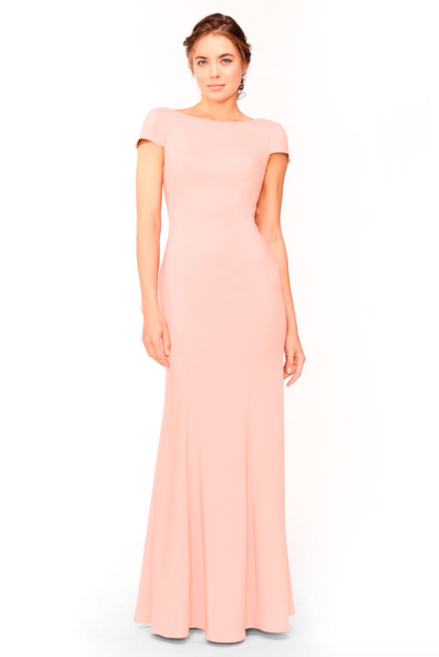 Bari Jay Bridesmaid Dress 1953 - DecoPeach