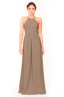 Bari Jay Bridesmaid Dress 1950 -DeepMocha