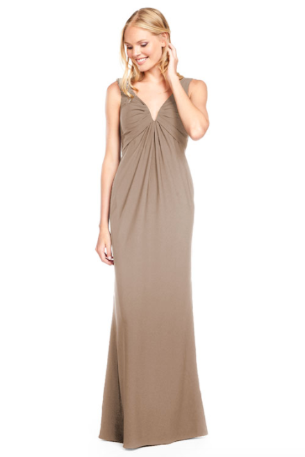 Bari Jay Bridesmaid Dress 2011 -DeepMocha