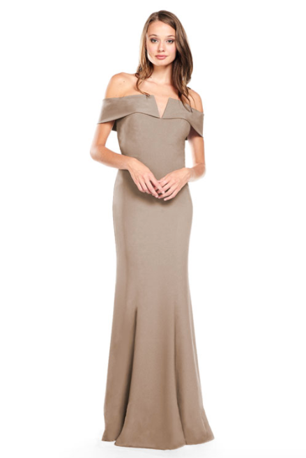 Bari Jay Bridesmaid Dress 2014 -DeepMocha