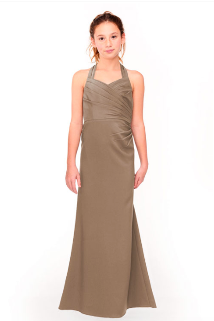 Bari Jay Junior Bridesmaid Dress 1958 - DeepMocha
