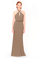 Bari Jay Bridesmaid Dress 1954 - DeepMocha