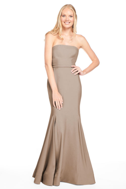 Bari Jay Bridesmaid Dress 2015 -DeepMocha