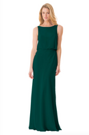 Bari Jay Bridesmaid Dress - 1661-DeepPine
