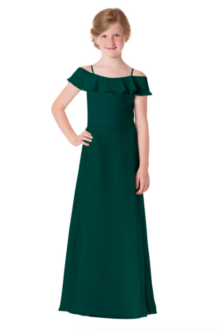Bari Jay Junior Bridesmaid Dress - 1730(JR)-DeepPine