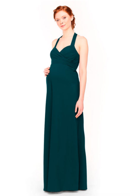 Bari Jay Maternity Bridesmaid Dress 1958 -DeepPine