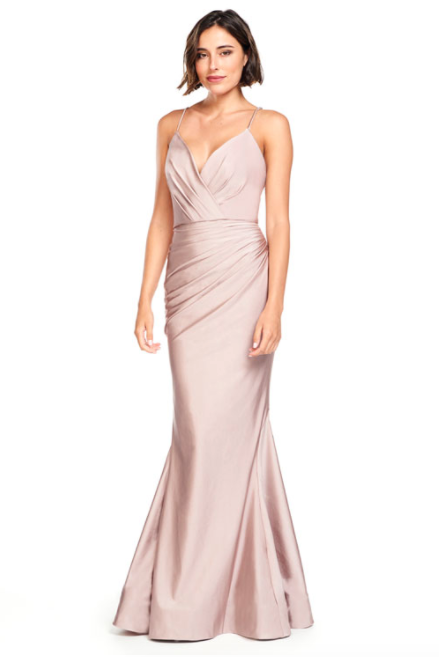 Bari Jay Bridesmaid Dress 2000 -Dusk