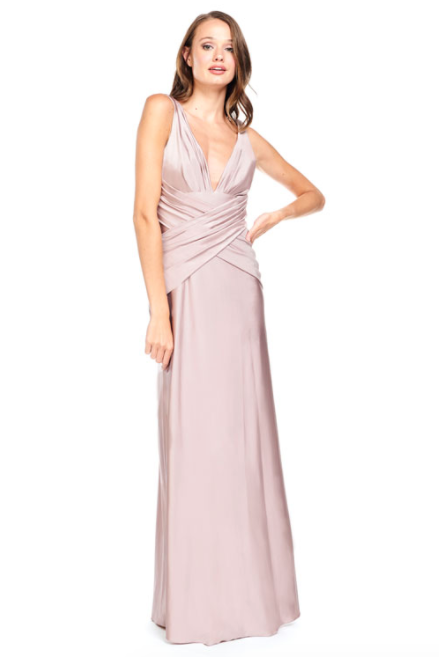 Bari Jay Bridesmaid Dress 2001 -Dusk