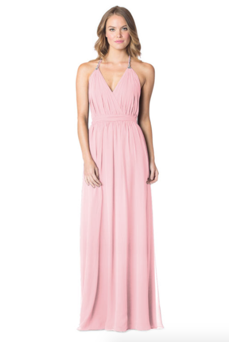 Dustyrose-Bari Jay Bridesmaid Dress - 1600