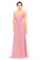 Bari Jay Bridesmaid Dress 1962 -Dustyrose