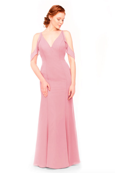 Bari Jay Bridesmaid Dress 1972 - Dustyrose