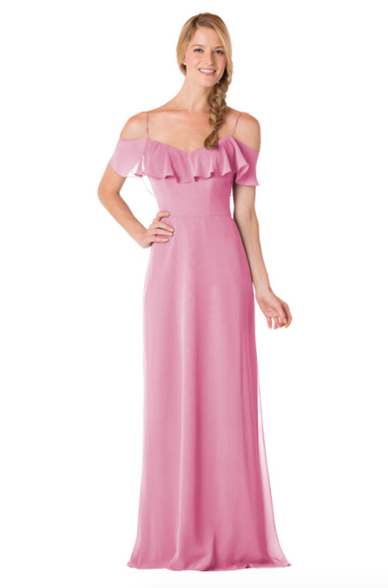 Bari Jay Bridesmaid Dress - 1730-Dustyrose