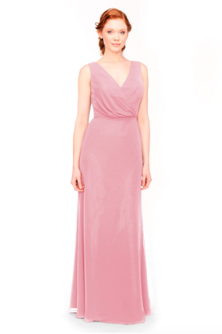 Bari Jay Bridesmaid Dress 1970 -Dustyrose