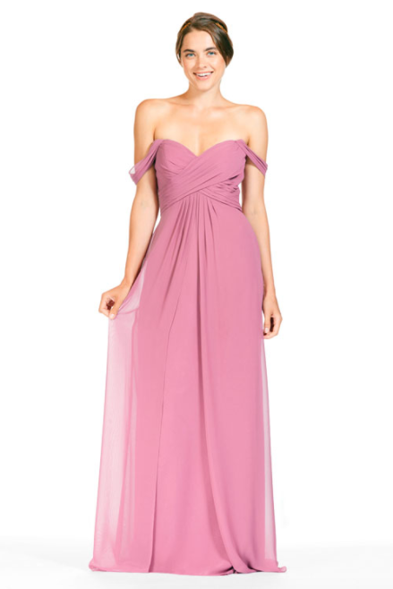 Bari Jay Bridesmaid Dress 1803 - Dustyrose