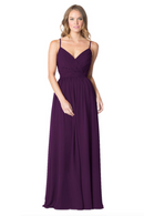 Bari Jay Bridesmaid Dress - 1606 BC-Eggplant