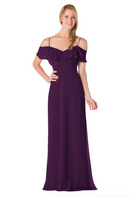 Bari Jay Bridesmaid Dress - 1730-Eggplant