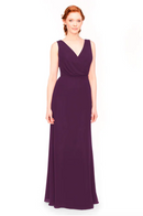 Bari Jay Bridesmaid Dress 1970 -Eggplant