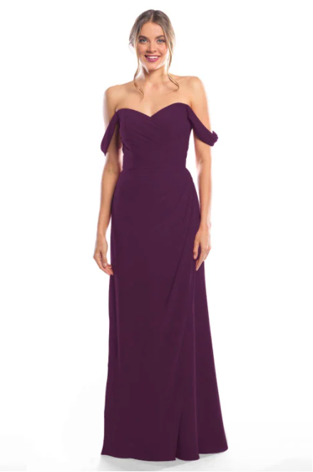 Bari Jay Bridesmaid Dress 2080 - Eggplant
