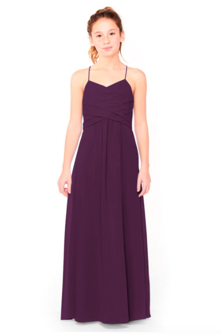 Bari Jay Junior Bridesmaid Dress 1962 - Eggplant