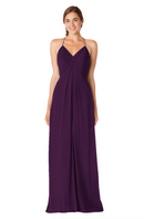 Bari Jay Bridesmaid Dress - 1723 BC-Eggplant