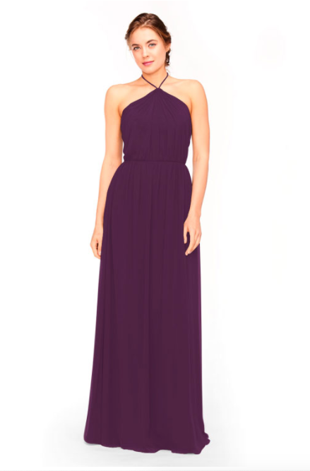 Bari Jay Bridesmaid Dress 1969 - Eggplant