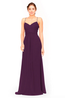 Bari Jay Bridesmaid Dress 1962 -Eggplant