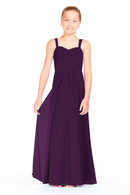 Bari Jay Junior Bridesmaid Dress 1803 (JR)-Eggplant