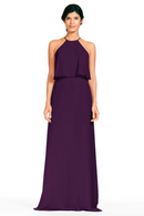 Bari Jay Bridesmaid Dress 1801-Eggplant