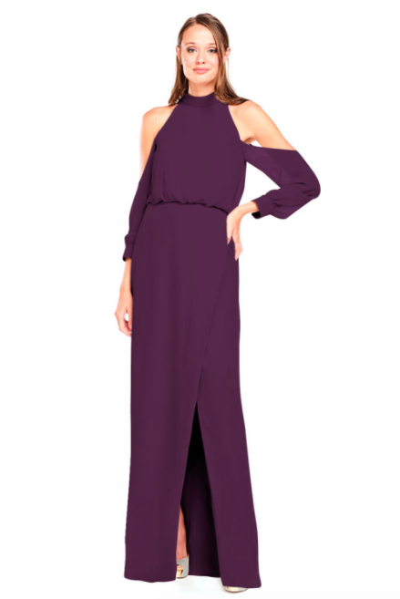 Bari Jay Bridesmaid Dress 2028 - Eggplant