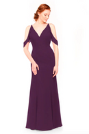 Bari Jay Bridesmaid Dress 1972 - Eggplant