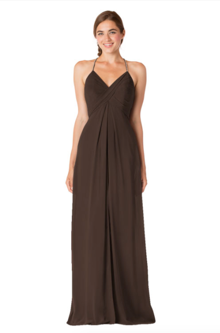 Bari Jay Bridesmaid Dress - 1723 IC-Espresso