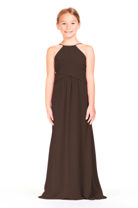Bari Jay IC Junior Bridesmaid Dress - 1806 IC (JR)-Espresso
