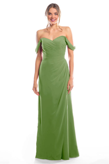 Bari Jay Bridesmaid Dress 2080 - Forest
