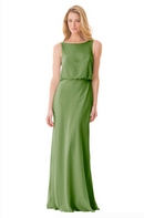 Bari Jay Bridesmaid Dress - 1661-Forest