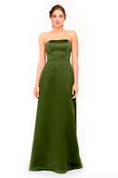 Bari Jay Bridesmaid Dress 1975 - Forest