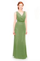 Bari Jay Bridesmaid Dress 1970 -Forest