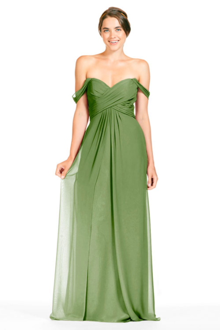 Bari Jay Bridesmaid Dress 1803 - Forest